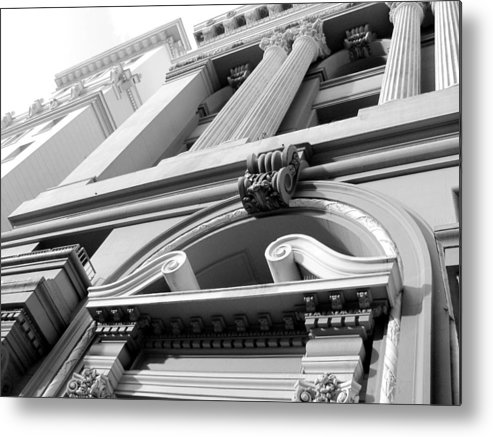 Architecture Metal Print featuring the photograph Looking Skyward by Douglas Pike