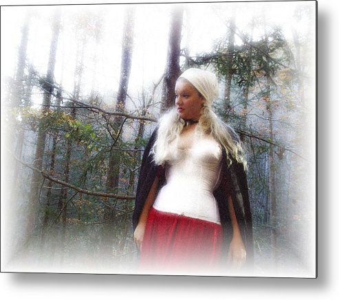 Fall Metal Print featuring the photograph Lost Feelings by Scarlett Royal