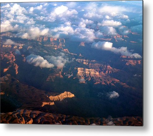Grand Canyon Metal Print featuring the photograph Magnificent Grand Canyon by Janet Hall