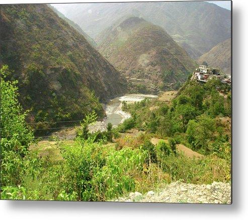 Himalayas Metal Print featuring the photograph Majestic Himalayas by Sonya Ki Tomlinson