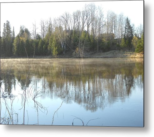 Mississippi River Metal Print featuring the photograph May Morning Mississippi River by Kent Lorentzen