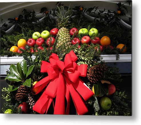 Christmas Cards Metal Print featuring the photograph Merry Christmas by Susanne Van Hulst