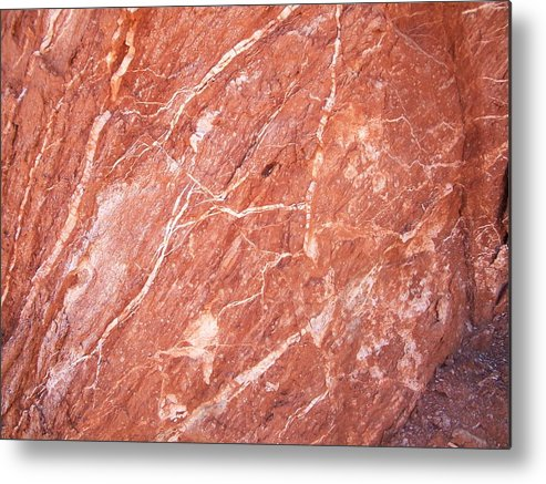 Landscape Metal Print featuring the photograph Minerals by Trenton Heckman