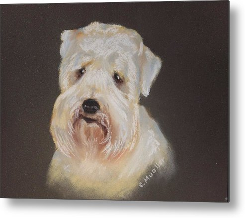 Pet Metal Print featuring the painting Monique's Bailey by Carol Mueller