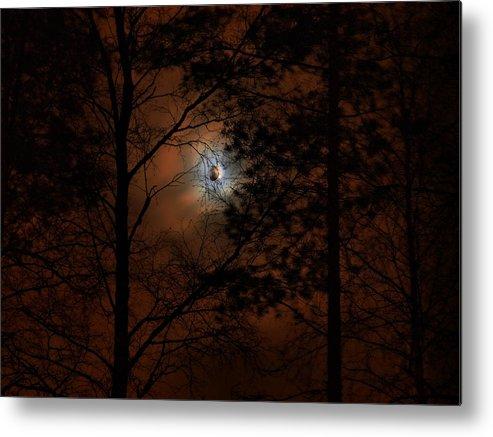 Lehtokukka Metal Print featuring the photograph Moonshine 04 Bad Moon Rising by Jouko Lehto