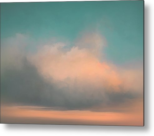 Lc Bailey Metal Print featuring the painting Morning Bliss by Lonnie Christopher
