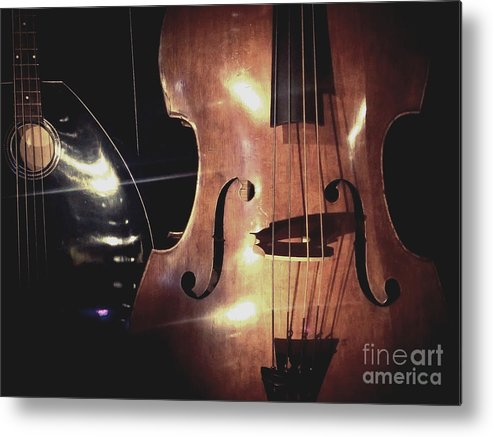 Violin Metal Print featuring the photograph Musical Talent by Michael Gailey