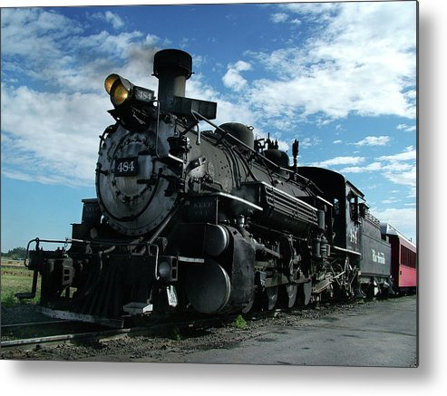 Steam Train Metal Print featuring the photograph My Best Side by Ken Smith