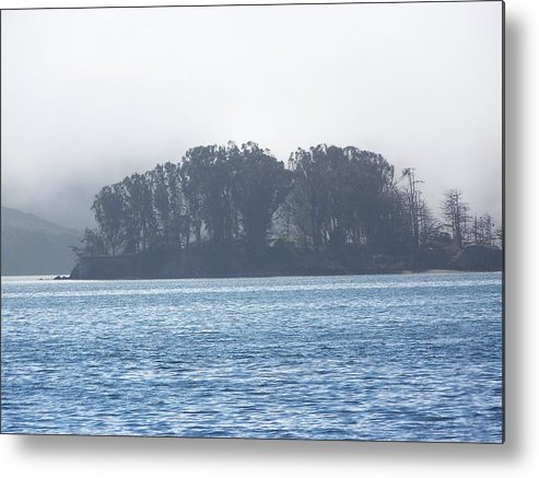 Waterscape Metal Print featuring the photograph My Blue Glow by Maggie Cruser