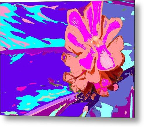 Flower Metal Print featuring the photograph Mystical Flower by Ian MacDonald