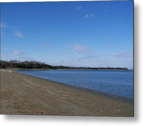 Water Metal Print featuring the photograph Narragansett Bay 6 by Erin Rosenblum