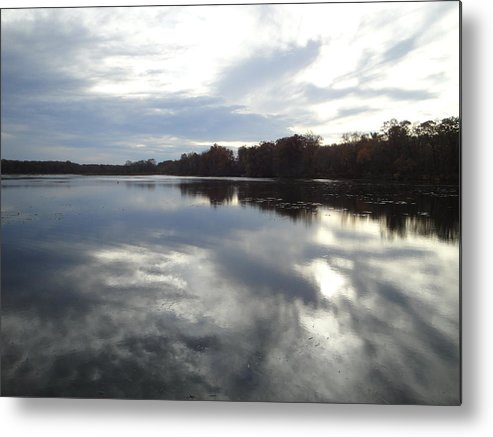 Autumn Landscape Metal Print featuring the photograph Nature's Expression-14 by Leonard Holland