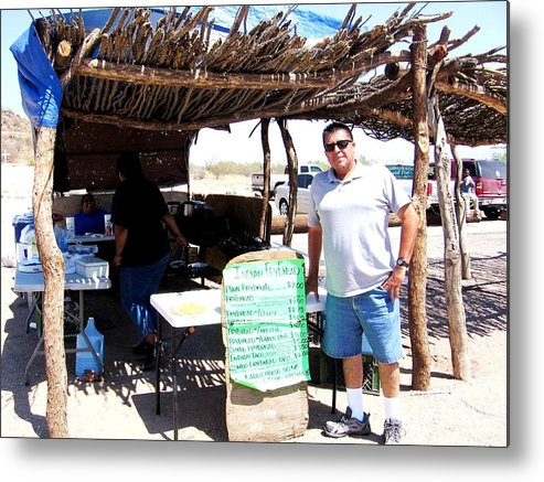 Tucson Metal Print featuring the photograph Navajo Tacos by Michelle Dallocchio