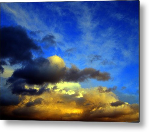 New Mexico Clouds Metal Print featuring the photograph New Mexico Clouds by Matthew Griffin