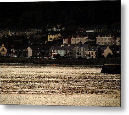 Ireland Metal Print featuring the photograph Newcastle Evening by Susan Grissom