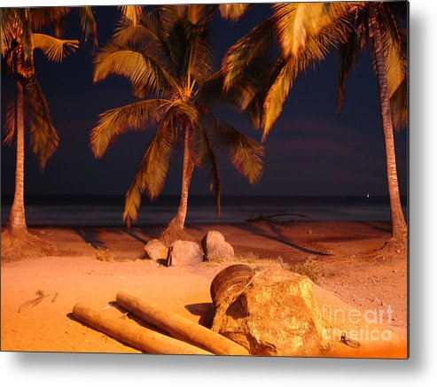 Landscape Metal Print featuring the photograph Night Forever Captured by Chad Natti