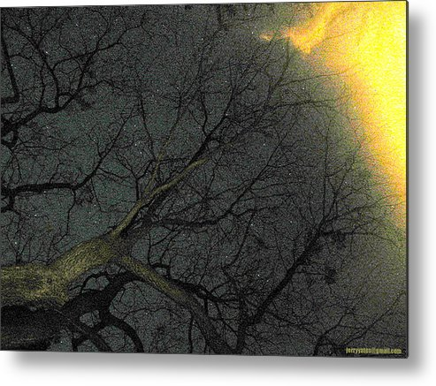 Night Metal Print featuring the photograph Night Sky by Gerard Yates
