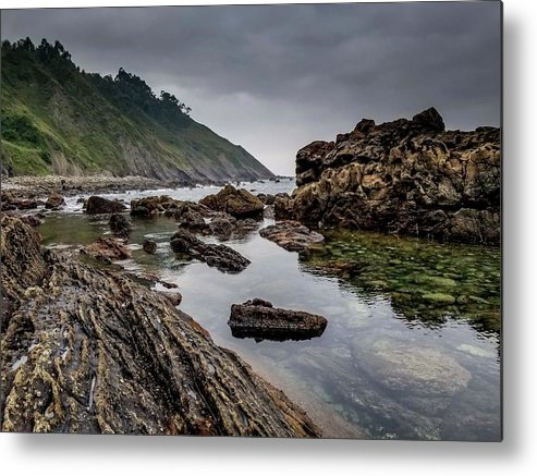 Coast Metal Print featuring the photograph Northern Coast by Ric Schafer