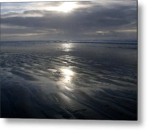 Ocean Metal Print featuring the photograph Ocean Shores by Ty Nichols