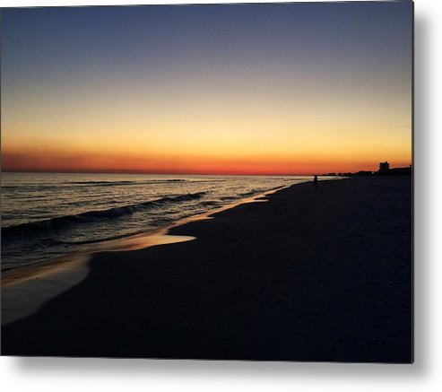 Sunset Metal Print featuring the photograph Ocean Sunset by Melissa Howell