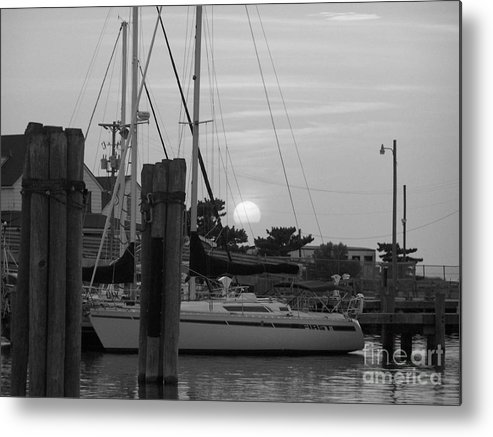 Ocracoke Metal Print featuring the photograph Ocracoke Sunset by Randy Edwards