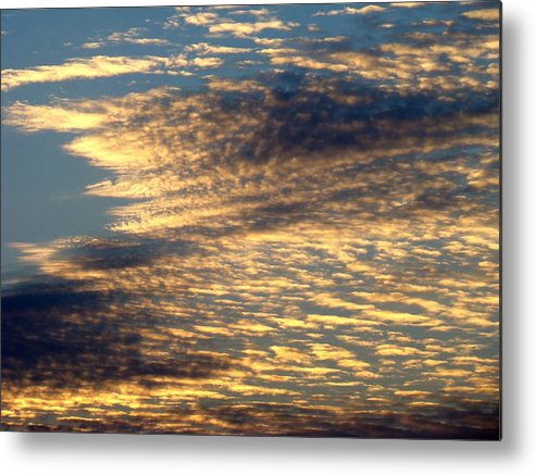 Sky Metal Print featuring the photograph Painted Sky Five by Ana Villaronga