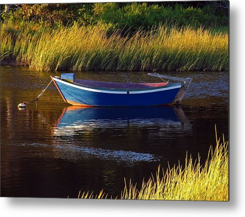 Solitude Metal Print featuring the photograph Peaceful Cape Cod by Juergen Roth