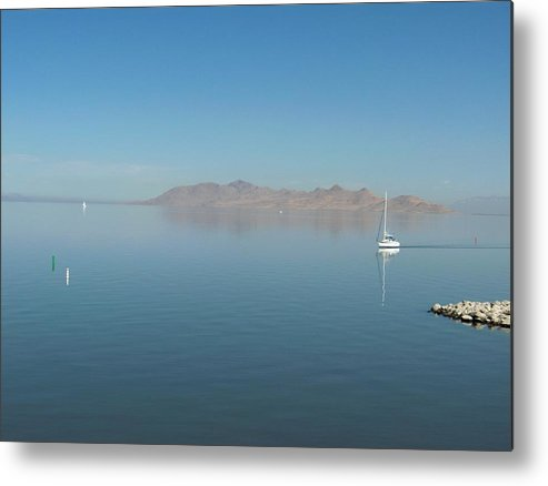 Landscape Metal Print featuring the photograph Peaceful Existence by Janet Hall