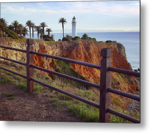 Lighthouse Metal Print featuring the photograph Point Loma Lighthouse California by Rikka-chan