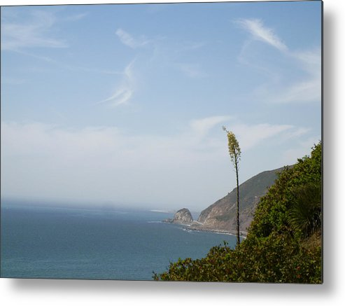 Malibu California Metal Print featuring the photograph Point Magu by Kareem Farooq