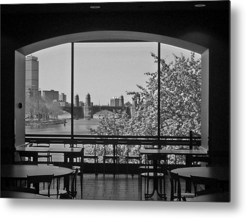 Window Metal Print featuring the photograph Portal To Spring by Nancy Ferrier