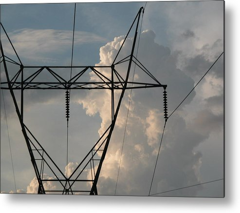 Enviroment Metal Print featuring the photograph Power by Michael Morrison