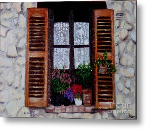Provence Metal Print featuring the painting Provence Morning by Laurie Morgan