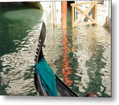 Italy Metal Print featuring the photograph Reflections Of Italy 1. by Nancy Bradley