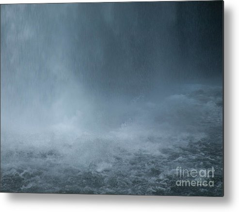 Waterfall Metal Print featuring the photograph Refreshing by Shari Nees
