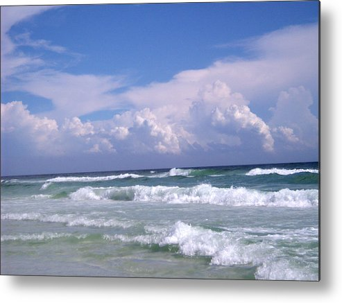 Ocean Metal Print featuring the photograph Restless by Nicole I Hamilton