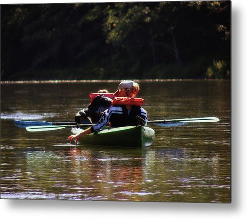 River Metal Print featuring the photograph River Float by JAMART Photography