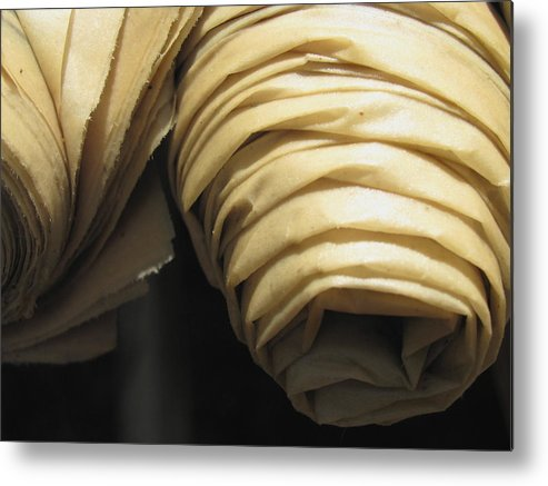 Paper Metal Print featuring the photograph Rolled Up 2 by Belinda Consten