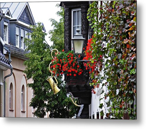 Rudesheim Metal Print featuring the photograph Rudesheim 3 by Sarah Loft