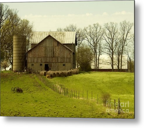 Farms Metal Print featuring the photograph Rural Americana-01 by Neil Doren