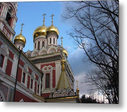 Church Metal Print featuring the photograph Russian Church by Iglika Milcheva-Godfrey
