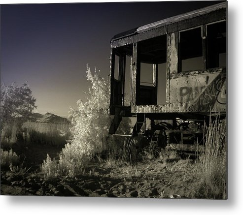 Trolley Metal Print featuring the photograph Salt Lake City Trolley 02 by Kelly Bryant