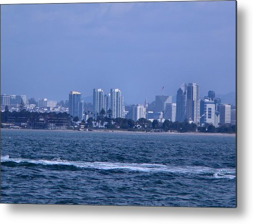 Landscape Metal Print featuring the photograph San Diego by Guillermo Mason
