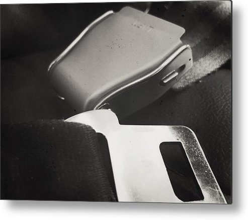 Aviation Metal Print featuring the photograph Seat Belt by Roxy S