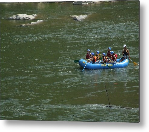 River Metal Print featuring the photograph Shenandoah Rafters by Michael L Kimble