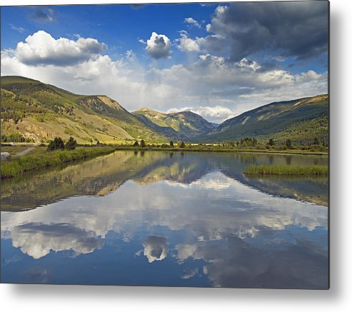 Colorado Metal Print featuring the photograph Site Of Camp Hale 10th Mountain Division Colorado Rocky Mountains by Brendan Reals