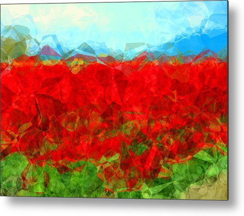 Valley Metal Print featuring the photograph Skagit Valley by Lori Seaman