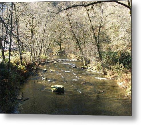 River Metal Print featuring the photograph Sleepy Creek by Shari Chavira