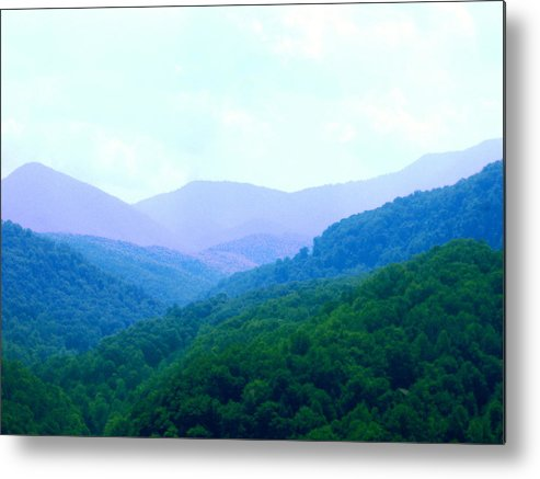 Mountains Metal Print featuring the photograph Smokies In Spring by Utopia Concepts