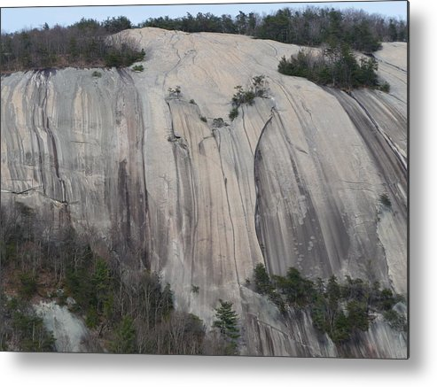 Stone Mountain Metal Print featuring the photograph South Face - Stone Mountain by Joel Deutsch